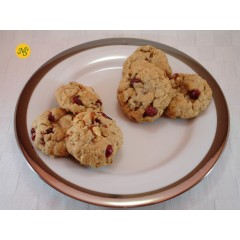 Oatmeal Cranberry Cookies with Roasted Almonds