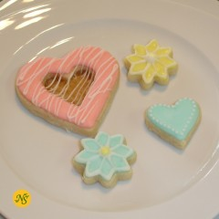 Organic Decorated Sugar Cut-Out Cookies - 1/2 Dozen
