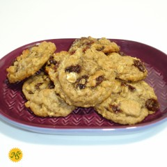 Organic Oatmeal Raisin Cookies - 2 Dozen
