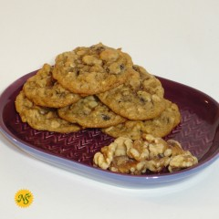 Oatmeal Raisin with Walnuts